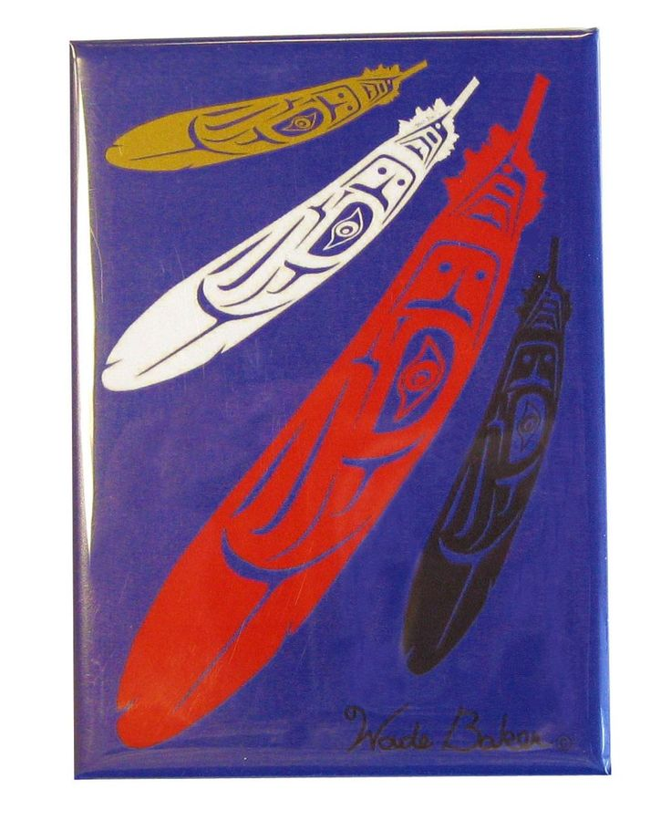 'Eagle Feather' Magnet