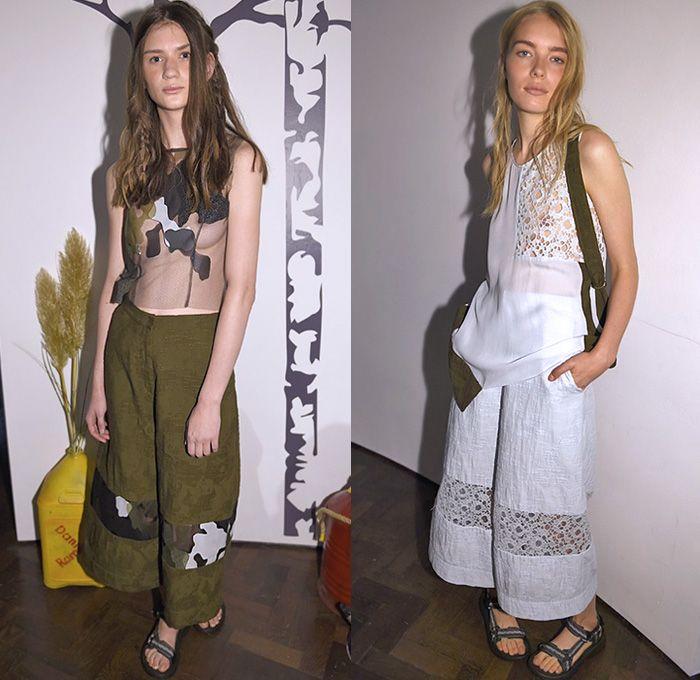 Danielle Romeril 2015 Spring Summer Womens Lookbook Presentation London Fashion Week London
