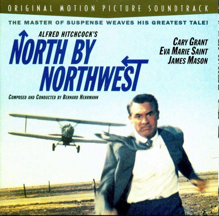Bernard Herrmann - North By Northwest (Main Title - Alfred Hitchcock film)