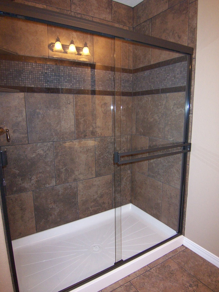 97 best images about shower remodel ideas on pinterest for Shower stall remodel
