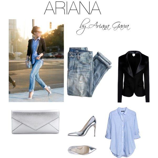 """ARIANA by Ariana Gavra"" by gavraariana on Polyvore"