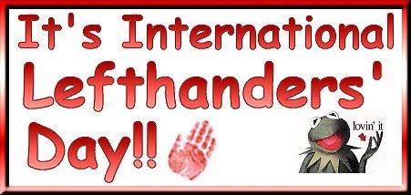 left handed | The left hand is the hand of the heart !- an Italian proverb