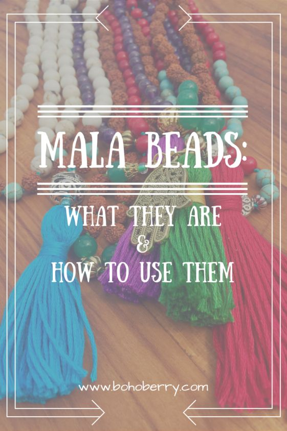 Mala Beads: What They Are & How To Use Them @ bohoberry.com