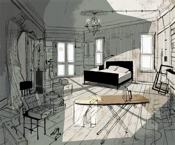 Living Lines Library: Coraline (2009) - Visual Development