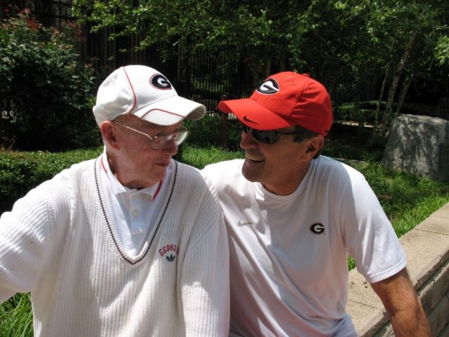 2 Legendary Coaches who changed the face of NCAA Tennis: UGA's Dan Magill & Manny Diaz! #SECLegendsUga Th South G R I T, Uga Tennis, Uga Dan, Ncaa Tennis