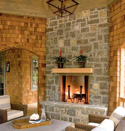 96 best images about gazebos and pergolas on pinterest for Gazebo with fireplace
