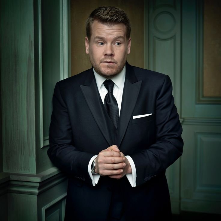 James Corden--Mark Seliger's Portraits From the 2016 Vanity Fair Oscar Party