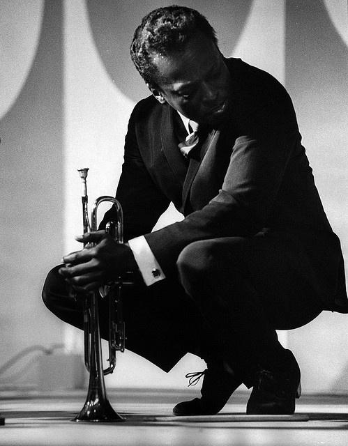 Miles Davis. 1964 at the Monterey Jazz Festival in Monterey, Calif.