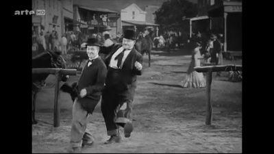 "Laurel & Hardy...."" Let's dance """