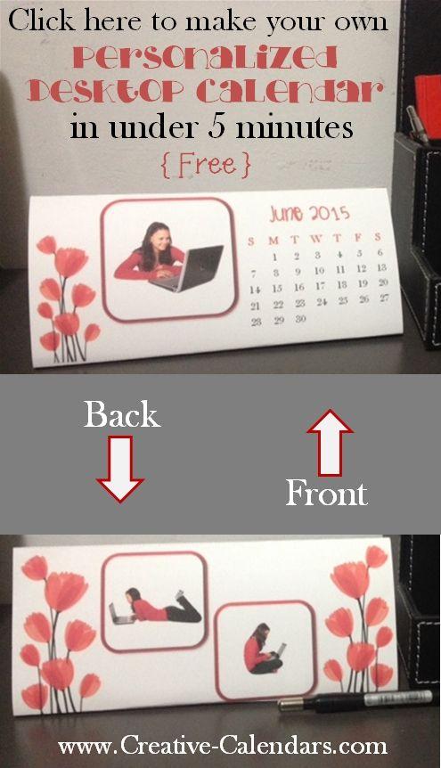 Best  Photo Calendar Maker Ideas On   Personalized