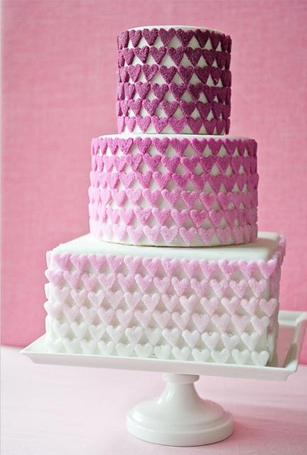 cakeweddingchicks.tiff by pen n' paper flowers, via Flickr