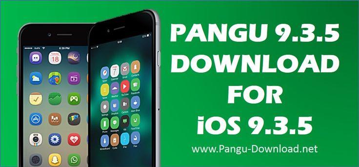 pangu for iOS 9.3.5