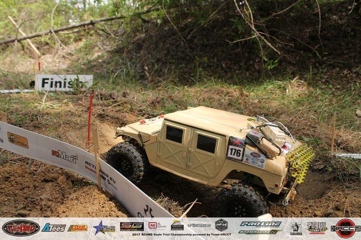 Hungarian Rc Crawler and Scale 4x4 Rc Trial Club_Brumca -AM General HMMWV-M1044_Gödöllő_2017