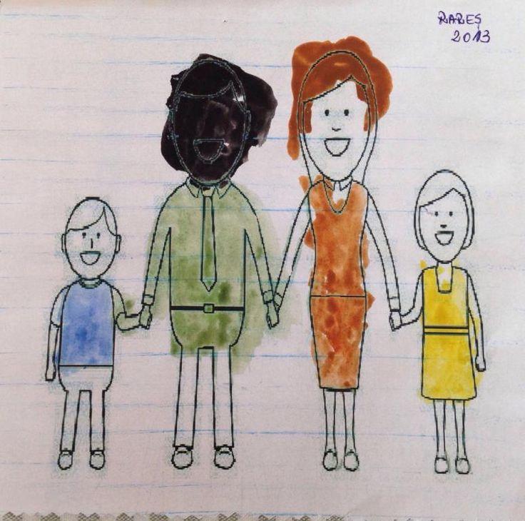 Negru pe desen la grădiniță. Două abordări diferite ale educatoarei.