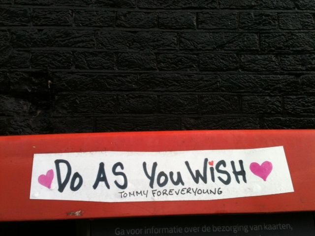 My wish is...