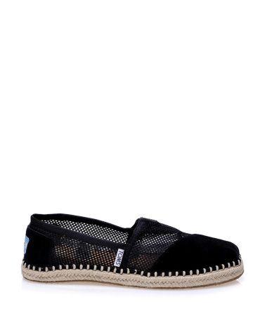 Toms Siyah Süet Espadril  #espadril #kanvasayakkabı #toms #fashion #moda #yazlıkayakkabı #bezayakkabı #shoes #canvasshoes #fashion #trend #style #look #moda #2016modası