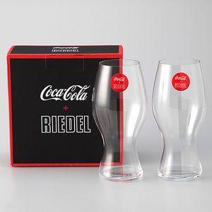 リーデルが本気で考えたコカ・コーラ専用グラス。【コカ・コーラ+リーデルグラス2客入り】