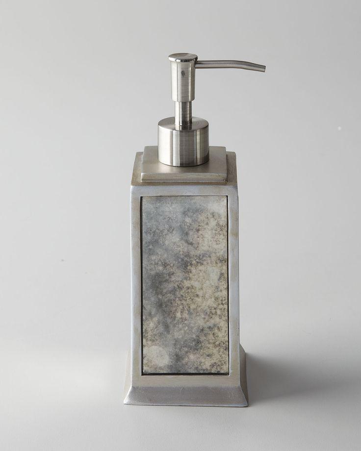 crystal bathroom accessories sets%0A Palazzo Vintage Wastebasket  Vintage VanitySoap DispenserBathroom