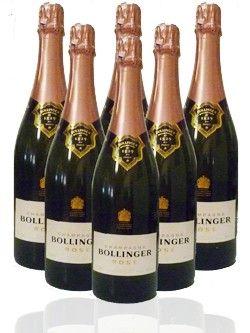 Bollinger Rosé Champagne Case