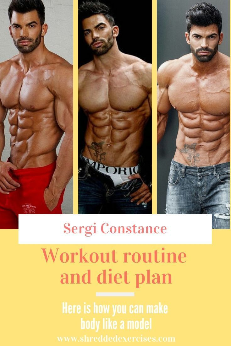 best workout routine for men with diet