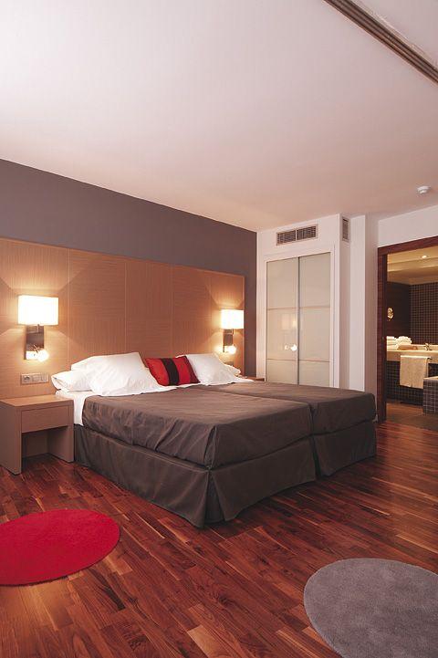 Habitación doble del Hotel Marqués de Vallejo. Con identidad propia.