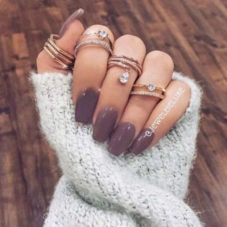 Perfect fall nail polish colors in 2018 18