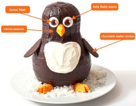 Step by step instructions on how to make a penguin birthday cake...now who loves me enough to make it for me ;) My birthday is coming fast!