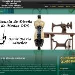 Página web Escuela de Diseño de Modas ODS