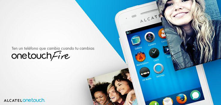 Compartir con el mundo los mejores momentos, ahora es posible con el ALCATEL ONETOUCH FIRE FOX y su cámara de 3.2 Mpxl.