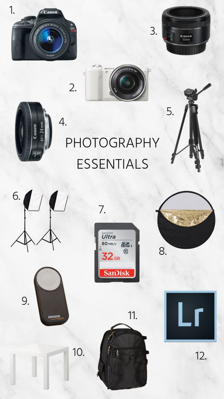 Our Photography Essentials | Twinspiration