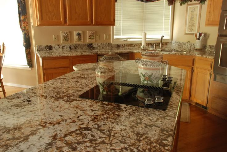 Granite Countertop to go with Maple Cabinet? (With images ... on Countertops That Go With Maple Cabinets  id=56932