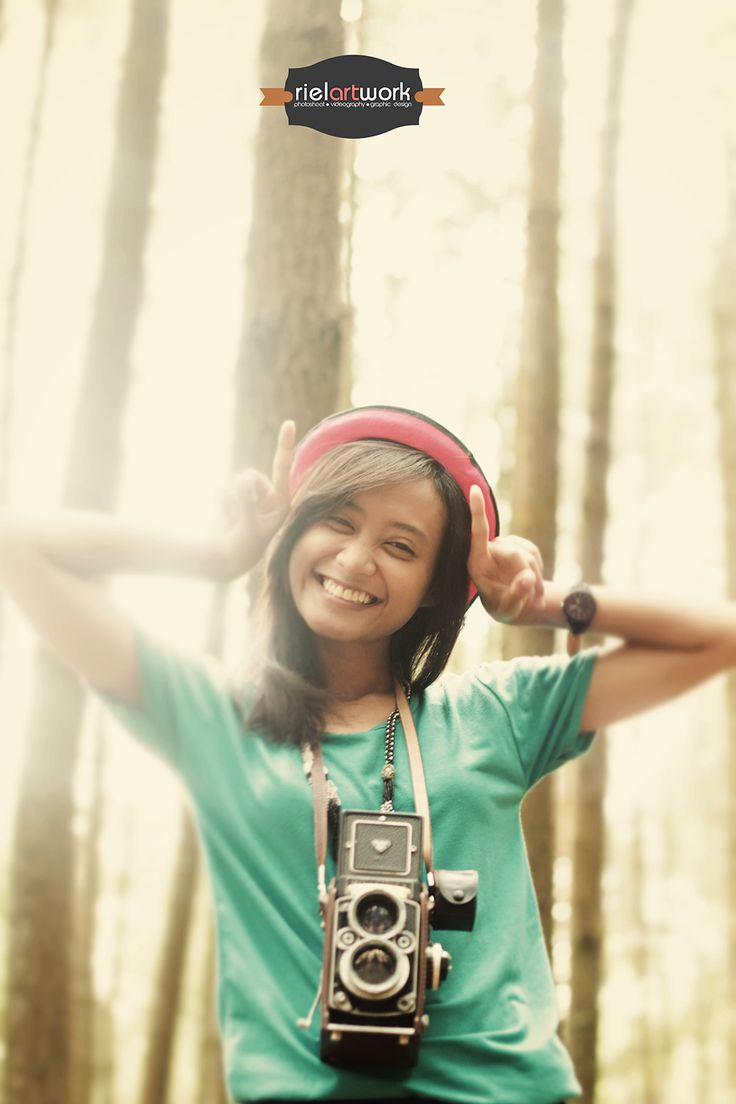 Christine Candra A - With Rolleiflex