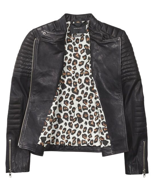 Leather Biker Jacket | Leather Jackets | Women's Clothing at Scotch & Soda