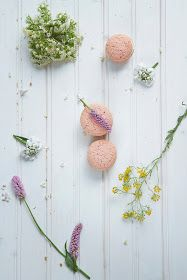 A beautiful mess. Cherry blossom macaroons
