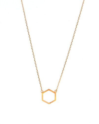 Octagon Necklace