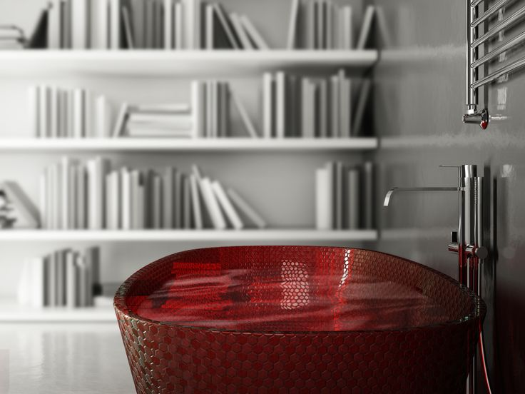 RedBathtub Cinema4d/Vray/ Photoshop