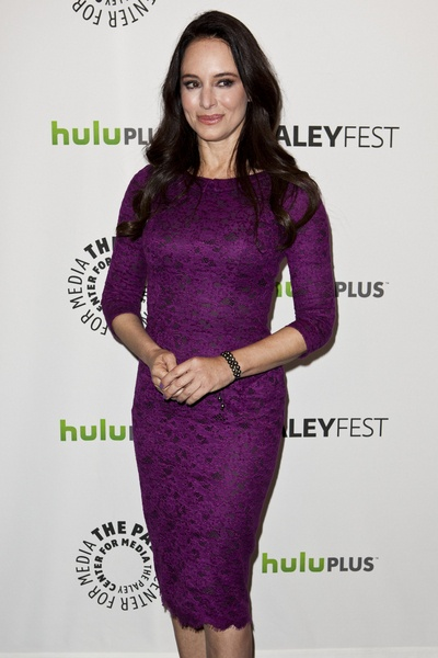 I want to always look as put together as Madeline Stowe. Amazing.