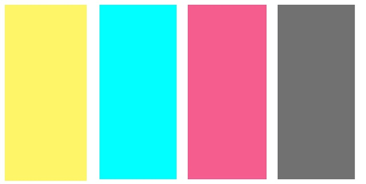 Cristina Joy I Made This For You Yellow Blue Pink