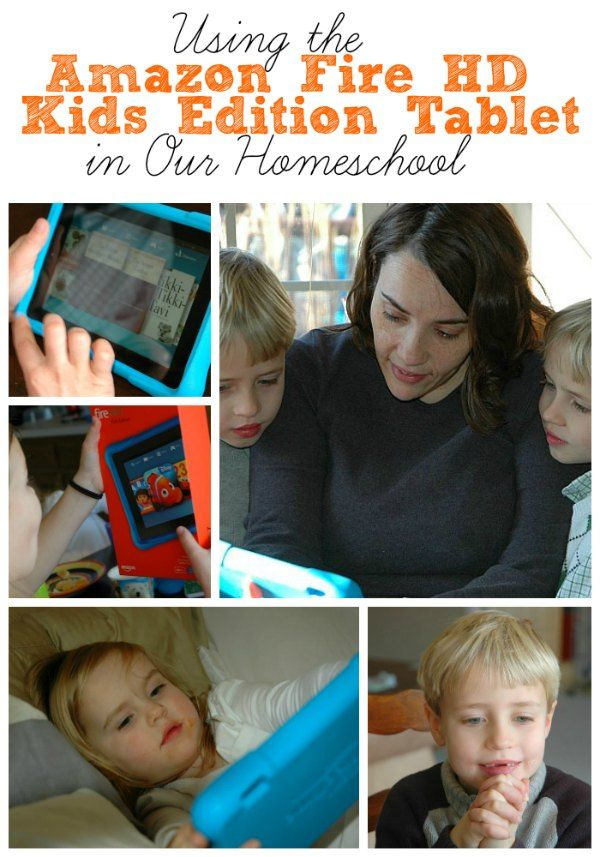 The New Amazon Fire HD Kids Edition is a wonderful Christmas gift, especially to use in a homeschool family. Take a look at why we love it! #FireHDKidsEdition #CG