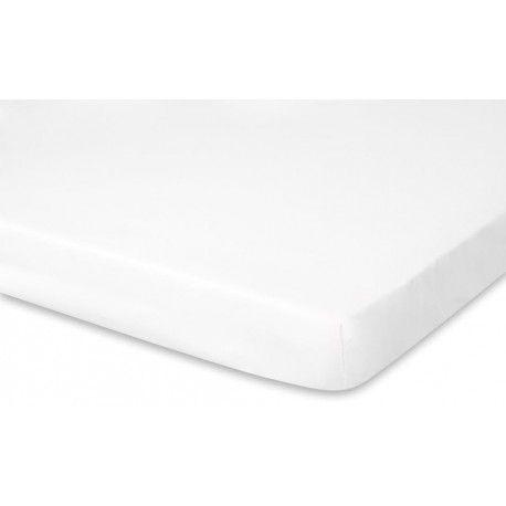 """Prześcieradło z Gumką """"Pure White"""". Eleganckie śnieżno białe prześcieradło wykonane z 100% certyfikowanej bawełny."""