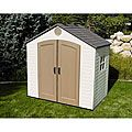 Lifetime Storage Shed (8' x 5') | Overstock.com Shopping - The Best Deals on Tool Sheds