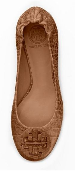 06a4a284f161 Amazon Croc Print Ballet Flats - Tory Burch  love these for fall ...