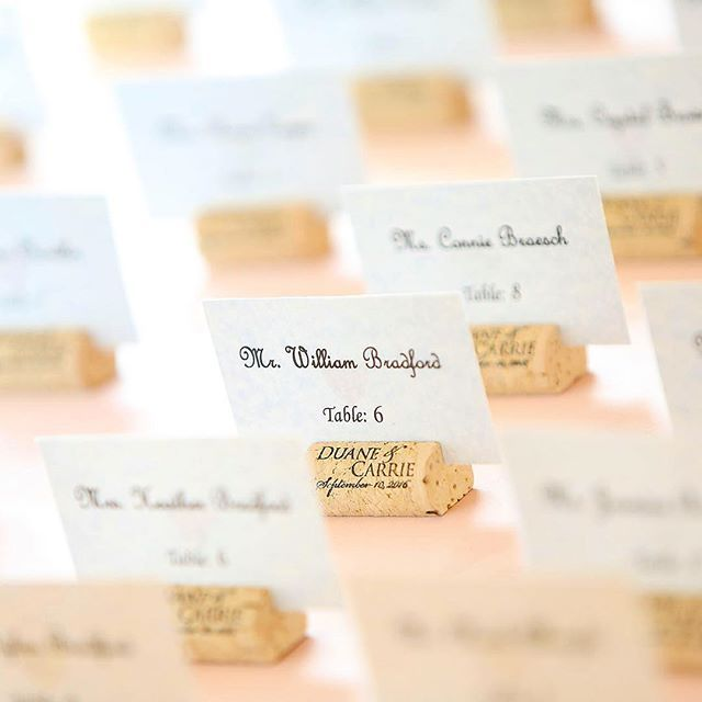 Cool idea for #wedding #placeCards #wine @breauxvineyards @breauxweddings #virginia #weddingPhotography