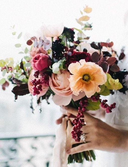 Beautiful Fall Wedding bouquet.