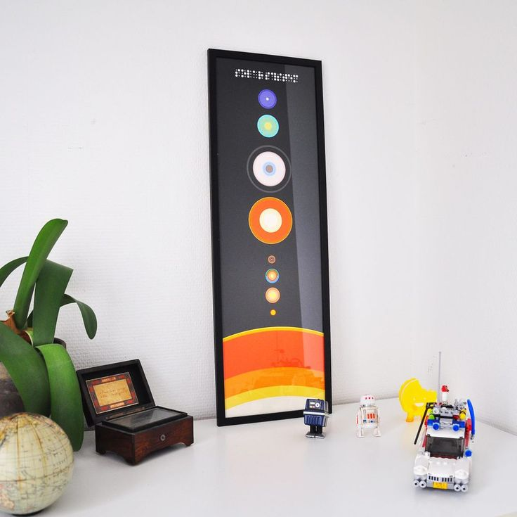 Solar System - LARGE via Lisa Ketty Jorgensen. Click on the image to see more!