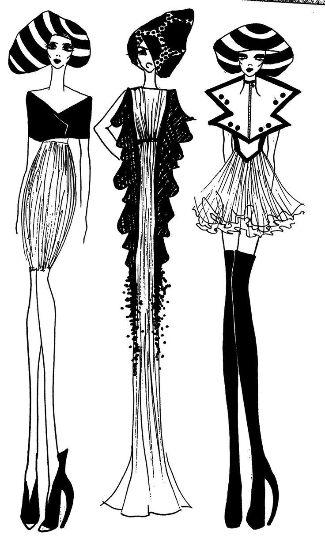 Trends For Gt Coco Chanel Designs Sketch Sketches Coco