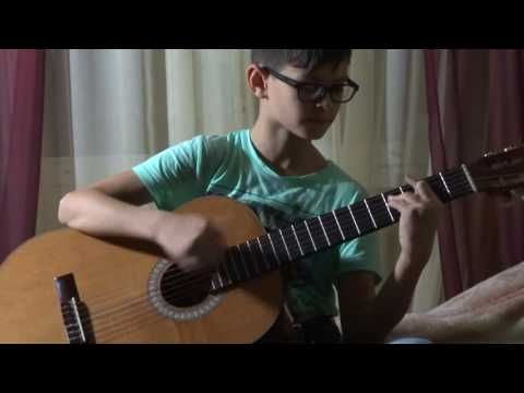 Depapepe Start  на классической гитаре кавер 1