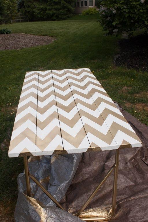 Een gouden tafel, DIY