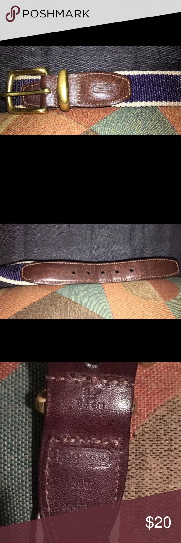 Coach belt Small coach belt ladies lightly used Coach Accessories Belts