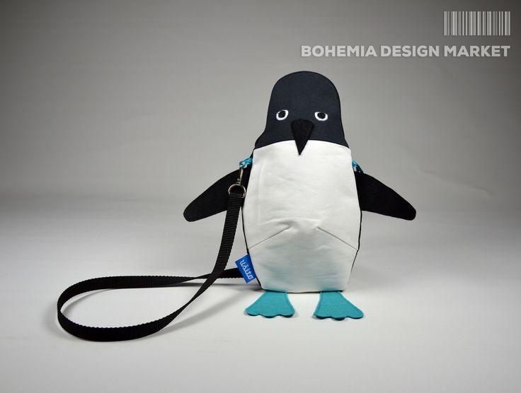 >>Penguin Bag - by Ušito<<  Enjoy Uniqueness & Quality of Czech Design http://en.bohemia-design-market.com/designer/usito